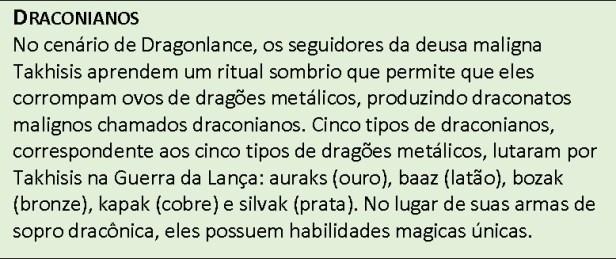 DD5_Draconianos Draconato - D&D 5ª Edição