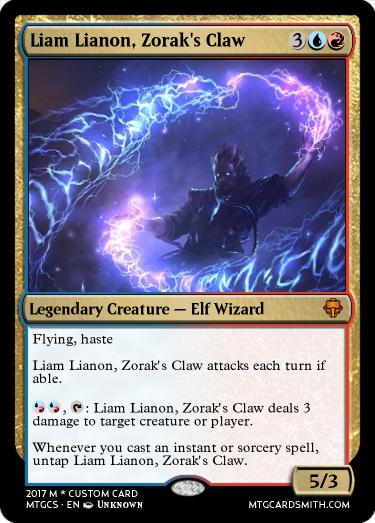Liam Lianon, Zorak's Claw