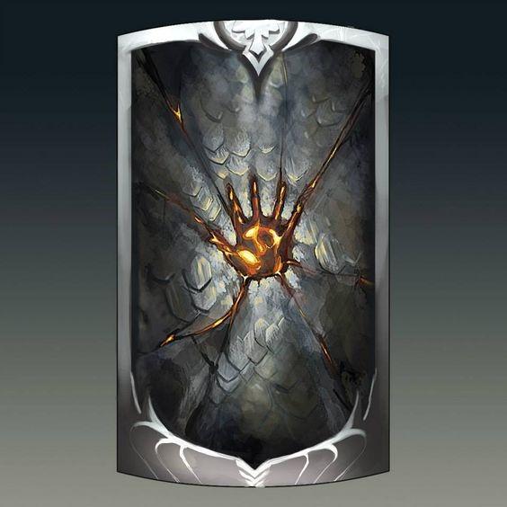 Greyhawk_Escudo-da-Bravura-Indômita O Príncipe, A Paladina, O Clérigo e O Mago – O Caminho dos Heróis P. VI