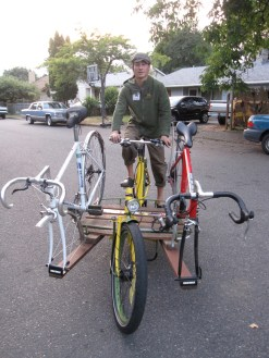 Custom extensions allow for carrying multiple bikes at once.