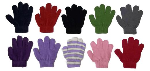 Stretchy gloves!