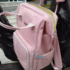 Diaper Bag Backpack with USB Phone Charger & Stroller Straps photo review