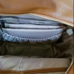 Leather Diaper Bag Backpack with Changing Pad & Stroller Straps photo review