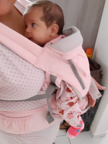 Baby Carrier All-In-One Wrap Ergonomic Hipseat photo review