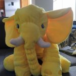 Adorable Elephant Plush Toy Big Size Pillow photo review