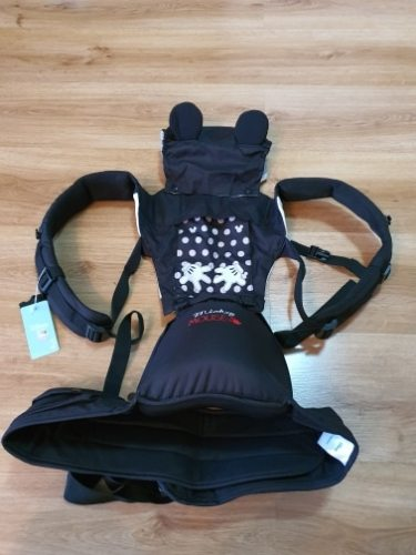 Disney Baby Carrier Ergonomic Hipseat with Breathable Front photo review