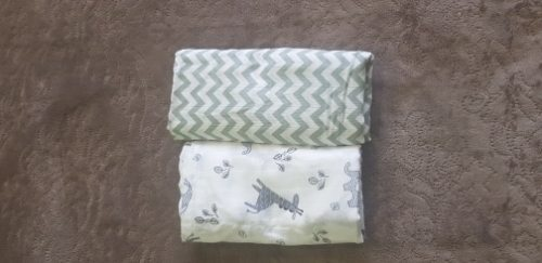Baby Swaddle Blanket Soft Muslin Cotton Wrap – Giraffe & Elephant photo review