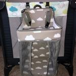 Diaper Caddy Organizer Hanging Baby Crib Organizer photo review