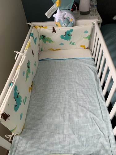 Baby Safe Crib Bumpers Pineapple photo review