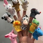 10pack Finger Puppet Cartoon Animal Dolls photo review