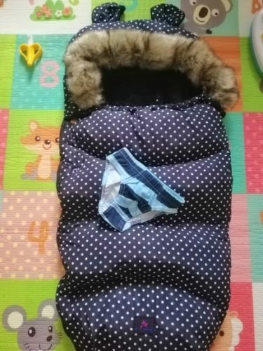 Baby Stroller Sleeping Bag Universal Bunting Bag Warm Footmuff photo review