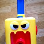 Balloon Powered Car with Rocket Launch Tower, Inertial Power Balloon Car Toy, photo review