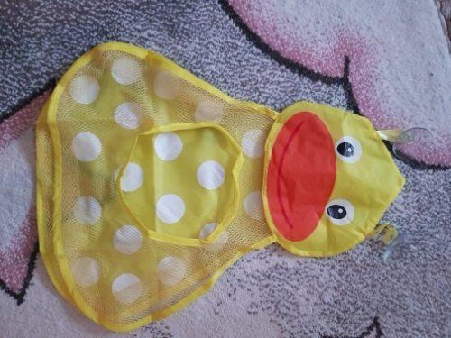 Baby Bath Toys Storage Pocket Organizer Anti-Slip Suction Cups photo review