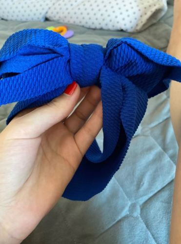 Baby Girls Large Bow Headband photo review