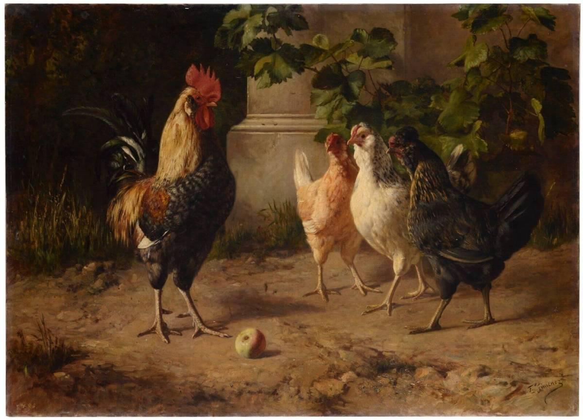 El Juicio de Paris - 1882. Supuestamente parodia, no hace referencia a las 3 Marías, sino a las 3 razas humanas del uniBERse y el modelo del hombre fruto de la vegetación
