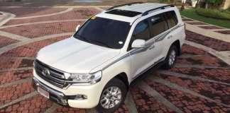 Toyota Land Cruiser V8 Specifications