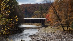Kryty most (covered bridge) - Catskill Mountains - USA - 2015-10-17