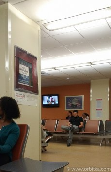 Immigration Office - waiting room