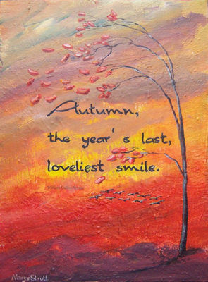 Autumn's Smile by Marty Strutt