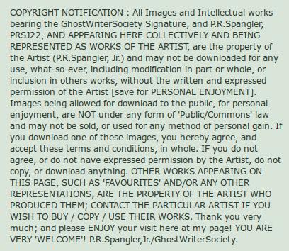 ghostwritersociety notice