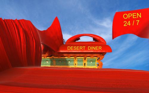 Desert Diner by mclarekin