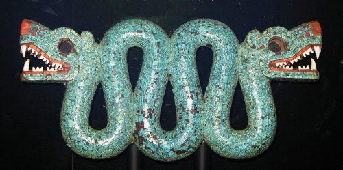 Aztec double-headed serpent, British Museum