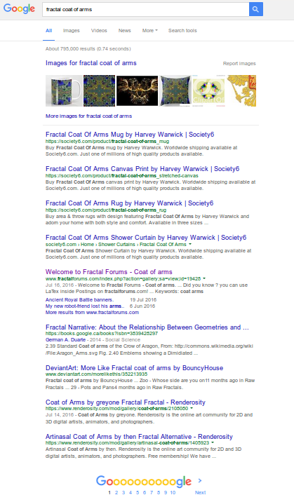 Click to go to search page results on Google