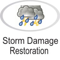 Storm damage icon