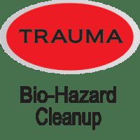 red bio-hazard cleanups icon