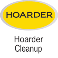 yellow hoarder cleanups icon