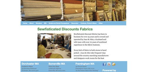 sewfisticated discount fabrics
