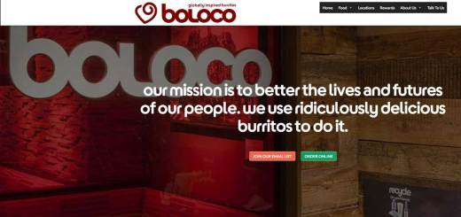new boloco home page for 2017 feature bootstrap responsive theme and quick access to all applications iphone app, online ordering, boston catering. burritos, smoothies