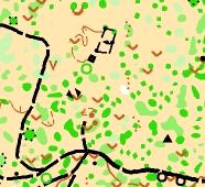 muestra mapa distancia corta