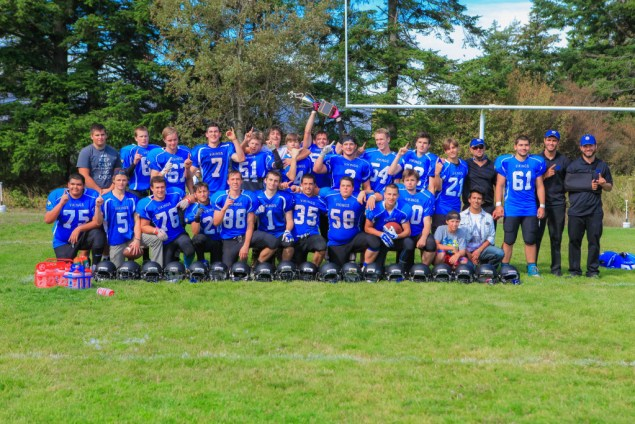 Orcas Island Football Team / Photo Credit: Melanie Flint