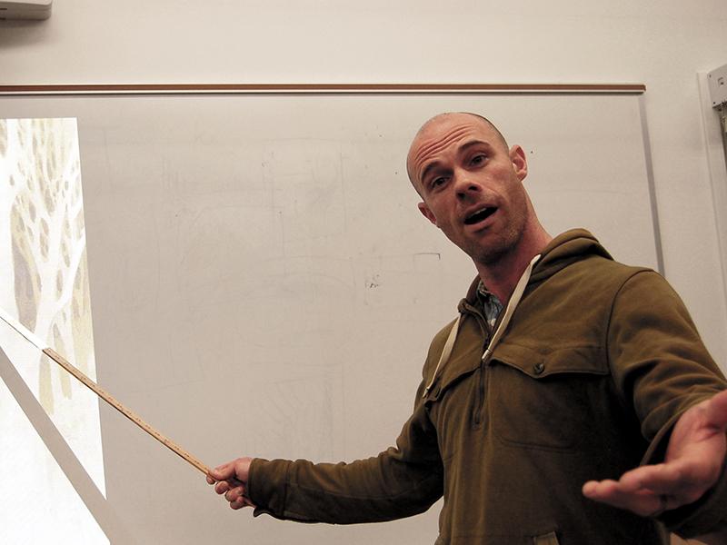Corey Wiscomb: Teacher of the Month