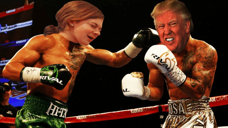 Upcoming Presidential Election: Haley Moss vs. Donald Trump