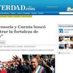 """""""La Memoria y Cuenta buscó demostrar la fortaleza de Chávez"""""""
