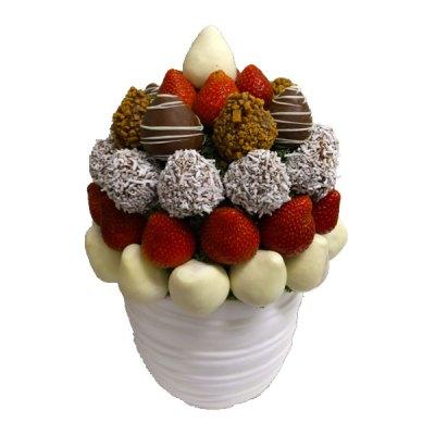 Jingle Bell Berry Edible Bouquet - Orchard Berry Arrangements