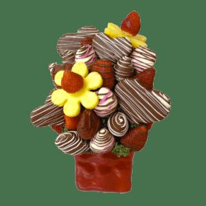 Cupid Edible Bouquet - Orchard Berry Arrangements