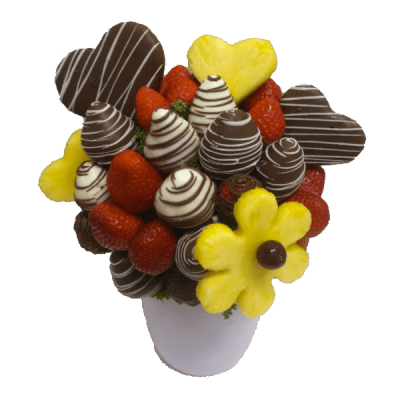 I Love Ya! Edible Bouquet - Orchard Berry Arrangements