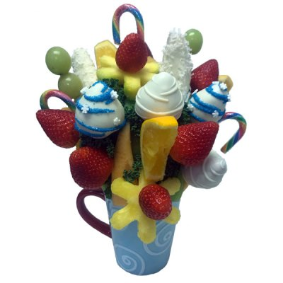 Candy Swirl Bouquet - Orchard Berry Arrangements - Spruce Grove