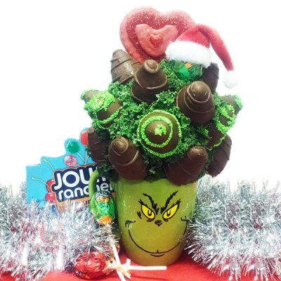 Dont be a Grinch Bouquet - Orchard Berry Arrangements, Spruce Grove