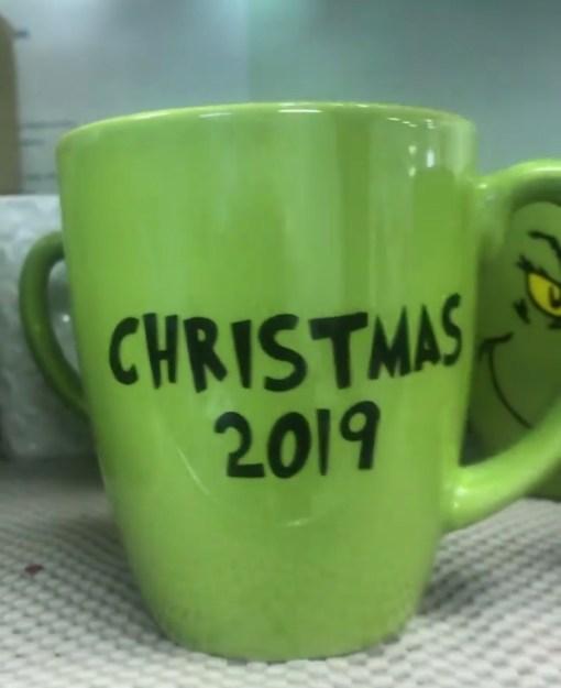 Grinch Christmas 2019 Mug