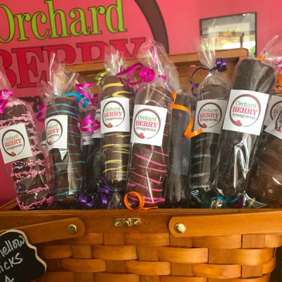 Chocolate covered Marshmallows - Orchard Berry Arrangements