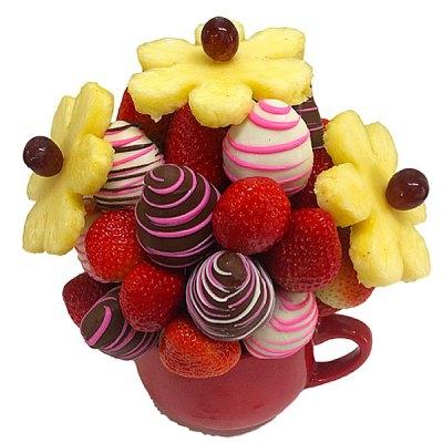 Strawberry Bliss Fruit Bouquet