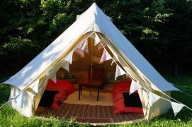 Victoria bell tent