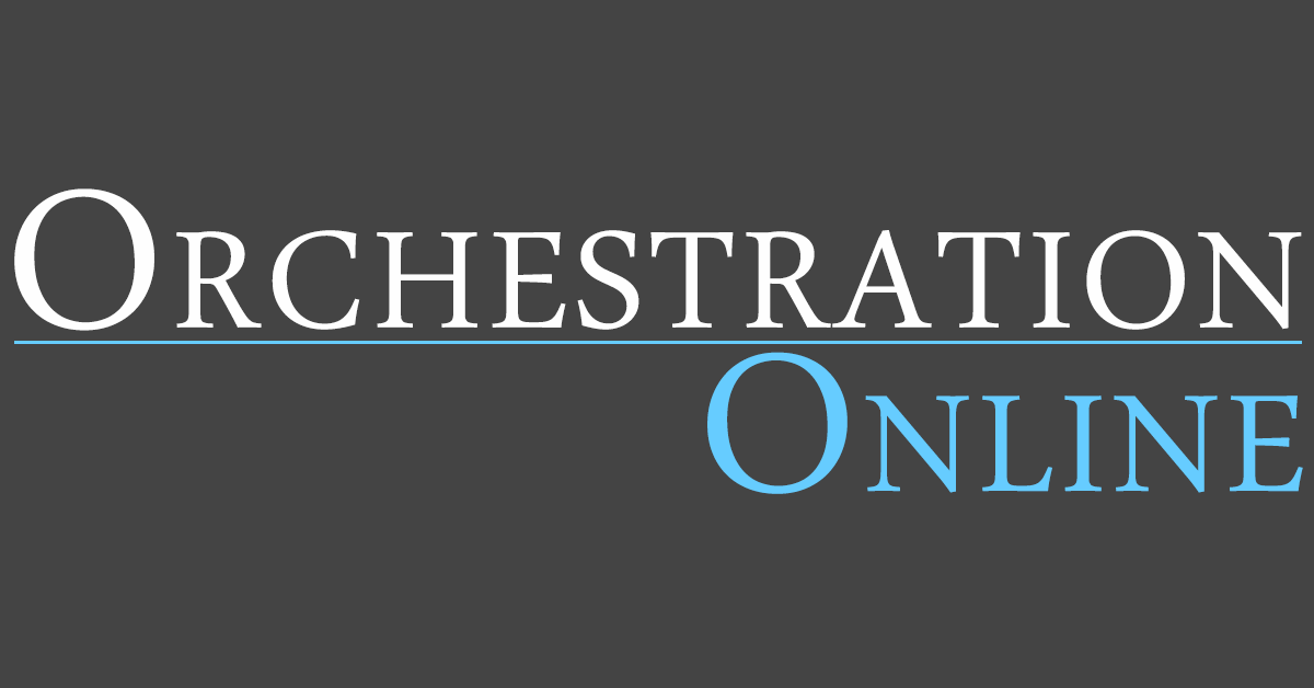 Orchestration Books - Orchestration Online