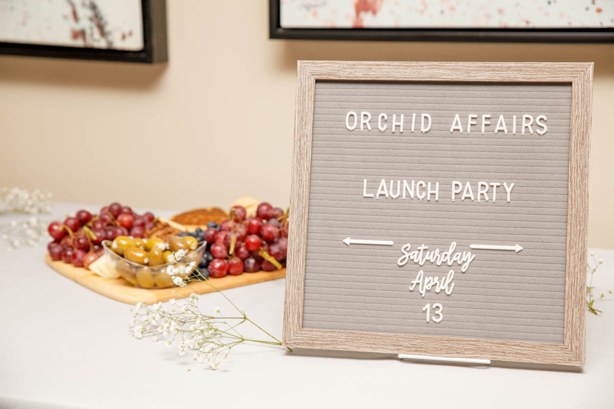 Orchid Affairs Food-Display Party Event Planning
