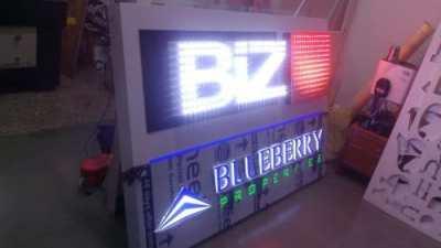 BIZ open dot LED signboard