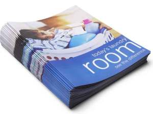 Digital printing of brochures
